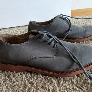 Men's Grey Suede Polo Ralph Lauren shoes